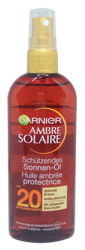 Garnier Ambre Solaire schützendes Sonnen-Öl olejek ochronny do opalania filtr 20