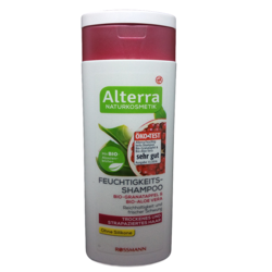 Alterra Feuchtigkeits szampon organiczny aloes, granat, akacja