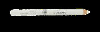 Alverde Naturkosmetik Kajal Eyeliner Weiss kredka do oczu nr 15 biała