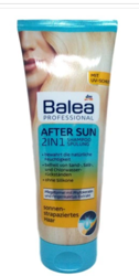 Balea Professional After Sun 2in1 Shampoo + Spülung szmapon + odżywka 2w1