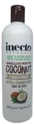 Inecto Naturals Super Moistouring szampon włosy zniszczone kokos