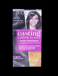 Loreal Casting Creme Gloss Coloration Dunkelbraun farba ciemny brąz nr 300