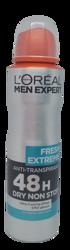 Loreal Men Expert Fresh Extreme 48 h spray antyperspirant w spray'u