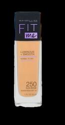 Maybelline New York FIT ME Make-up 250 Sun Beige podkład nr 250 słoneczny beż