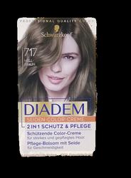 Schwarzkopf Diadem Hellbraun nr 717 farba do włosów jasny brąz
