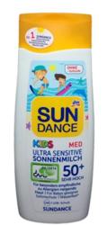 Sundance Med Kids Ultra Sensitive LSF 50+ mleczko ochronne dla dzieci filtr 50+ skóra wrażliwa