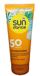 Sundance Sonnencreme krem ochronny do twarzy i dekoltu filtr 50
