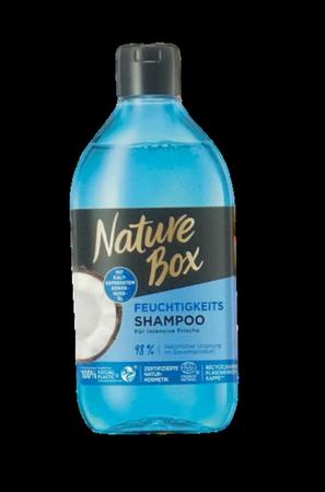 Nature Box Shampoo mit 100 % kaltgepresstem Kokosnuss-Öl  szampon 100& olej kokosow