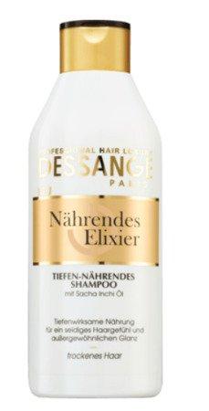 Dessange Shampoo Nährendes Elixier szampon włosy suche, zniszczone, bez blasku
