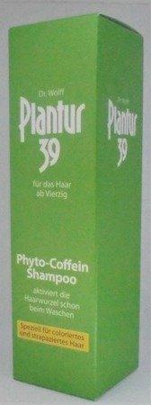 Dr Wolf Plantur 39 Shampoo Phyto-Coffein Coloriertes & Strapaziertes Haar szampon fitokofeina włosy farbowane, zniszczone