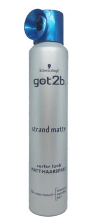Got2b Strand Matte lakier do włosów