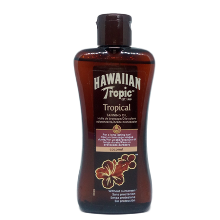 Hawaiian Tropic Sonnenöl Tropical Tanning Oil olejek do opalania