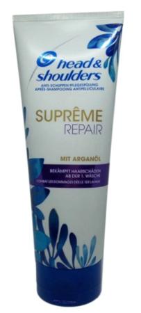 Head&Shoulders Anti-Schuppen Spulung suprême repair odbudowująca odżywka przeciwłupieżowa