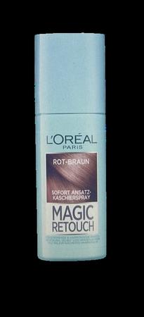 Loreal Paris Magic Retouch Sofort Ansatz-Kaschierspray  Rot Braun spray na odrosty brąz czerwień brąz 90 ml