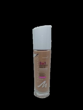 Manhattan Cosmetics Easy Match Make-up rose  beige 36 podkład klasyczna różowyy beż nr 36