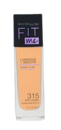 Maybelline New York FIT ME Make-up Soft Honey 315 podkład nr 315 delikatny miód
