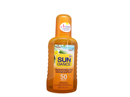 Sundance Transparentes Sonnenspray LSF 50 transparenty spray ochronny filtr 50
