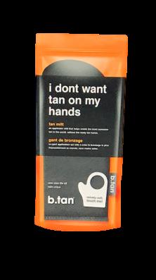b.tan Applikations-Handschuh zur Selbstbräunung 'I dont want tan on my hands rękawica do nakładania samoopalacza