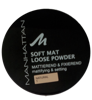 Manhattan Cosmetics Gesichtspuder Soft Mat Loose Powder Naturelle 01 puder nr 01 naturalny